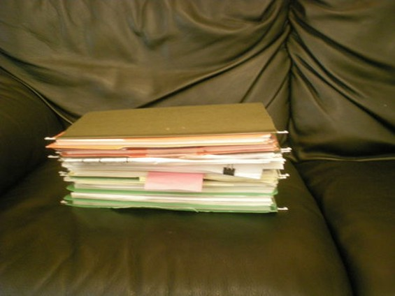 This is how much paperwork it would take to renovate the Board of Supervisors' chamber (and they're not near finished)