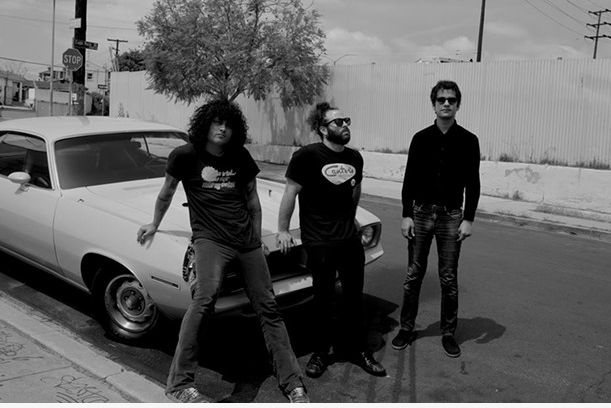 This is Mars Volta, from which Antemasque was eventually born.