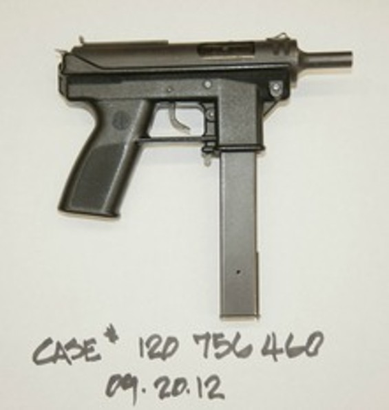 This is the gun Oliver allegedly used - SFPD