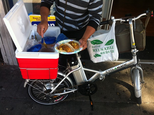 """This is what I call """"street food."""" - OMAR MAMOON"""