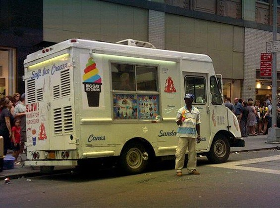 This truck is coming to San Francisco. - COURTESY OF BIG GAY ICE CREAM