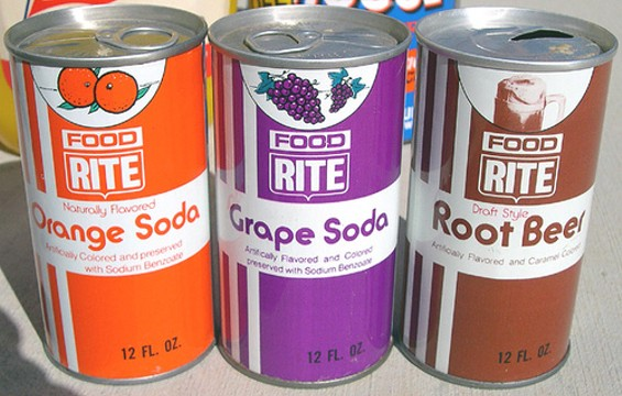 This was what generic food looked like in the 1970s. - ROADSIDE PICTURES/FLICKR