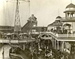 Thrill-seeking San Franciscans used to visit - the Chutes.