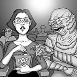 AARON  FARMER - Thrill to the Gill Man at Creature From - the Black Lagoon.