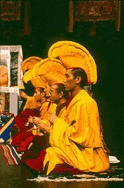 JOHN  WERNER - Tibet's Gyuto Monks practice spirituality through music.