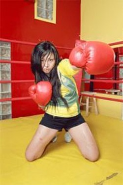 PATRICK  FRASER - Tigarah: Quite the knockout.