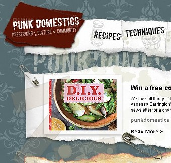 Timberlake's Punk Domestics site celebrates all things homesteading. - PUNK DOMESTICS