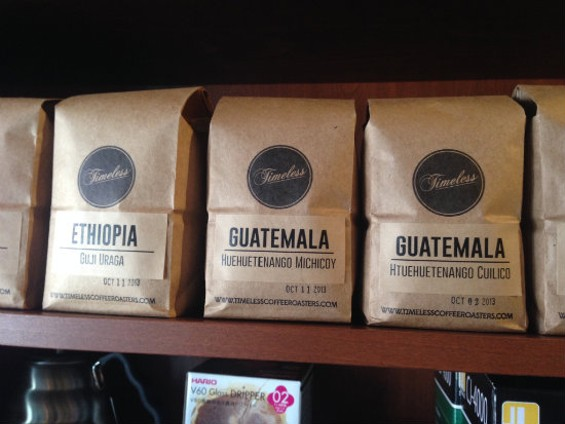 Timeless Coffee Roaster's newest offerings - RJ LEIMPETER