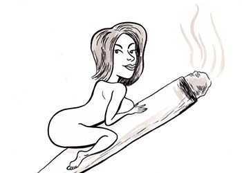 Tits and Ash: Why Weed Sites Cater to the Male Gaze