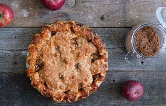 Toffee apple pie from Three Babes tastes as good as it sounds. - THREE BABES BAKESHOP