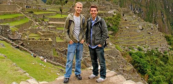 Tom Bridegroom and Shane Bitney Crone.