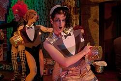DANNYNICOLETTA.COM - Tom Orr, Noah Haydon, and Dalton Goulette in Tinsel Tarts in a Hot Coma.