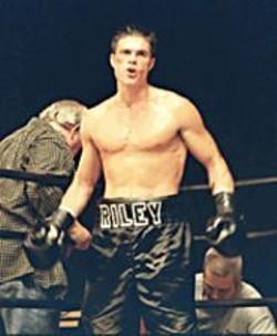 EDDIE  O'FLAHERTY - Tommy Riley, fighting, at IndieFest.