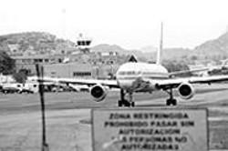 LUIS  ELVIR - Toncontn International Airport in Tegucigalpa, - Honduras.