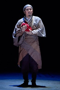 Tony Award winner BD Wong stars as Cheng Ying in American Conservatory Theater's production of 'The Orphan of Zhao'. - KEVIN BERNE