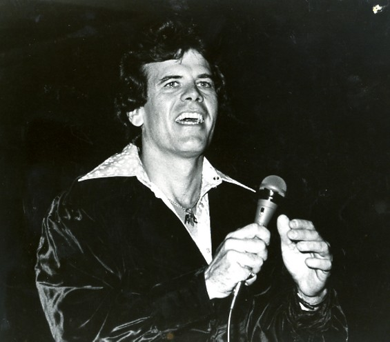 Tony Hall during the height of the Disco Era