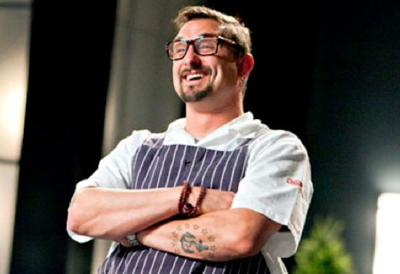 Top Chef Masters winner Chris Cosentino. - BRAVO TV