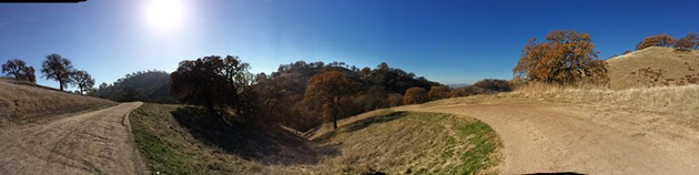 Trails in around Mount Diablo