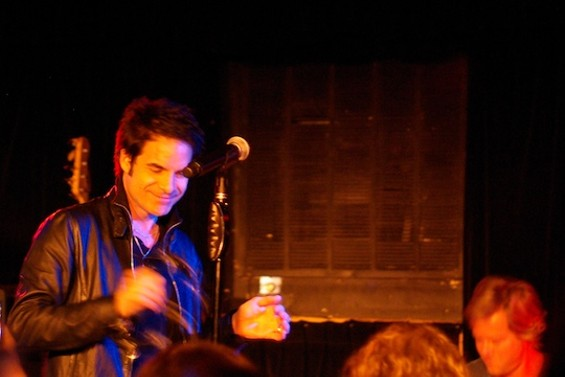 Train at Cafe Du Nord last night.