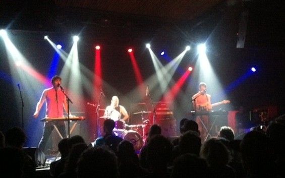 Trans Am at the Independent last night.