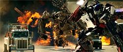 Transformers: Michael Bay has never blown stuff up better.