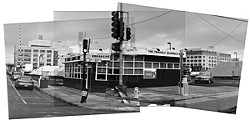 """PATRICK PIAZZA - Triangle Sandwich Shop (16th and Third streets) 2003 at """"Hidden Histories."""""""