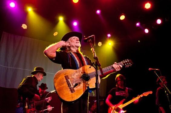 Trigger, Willie Nelson's guitar. - RICHARD HAICK