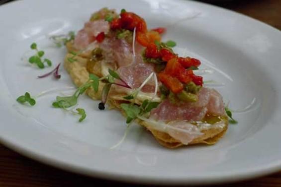 Tuna Tartare Provencal