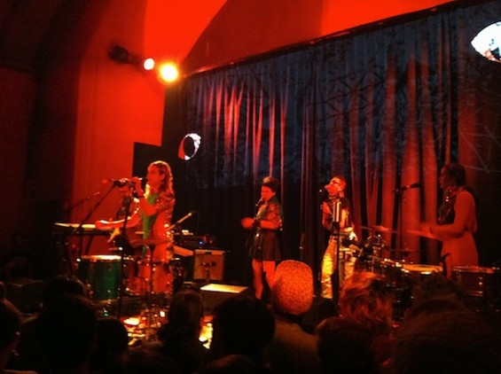 tUnE-yArDs at the Chapel last night.