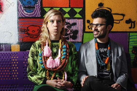 tUnE-yArDs' Merrill Garbus and Nate Brenner - MIKE HENDRICKSON