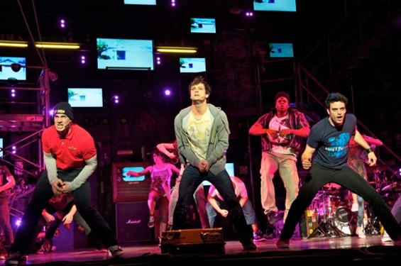 Tunny, Johnny, and Will in American Idiot - DOUG HAMILTON/COURTESY SHN