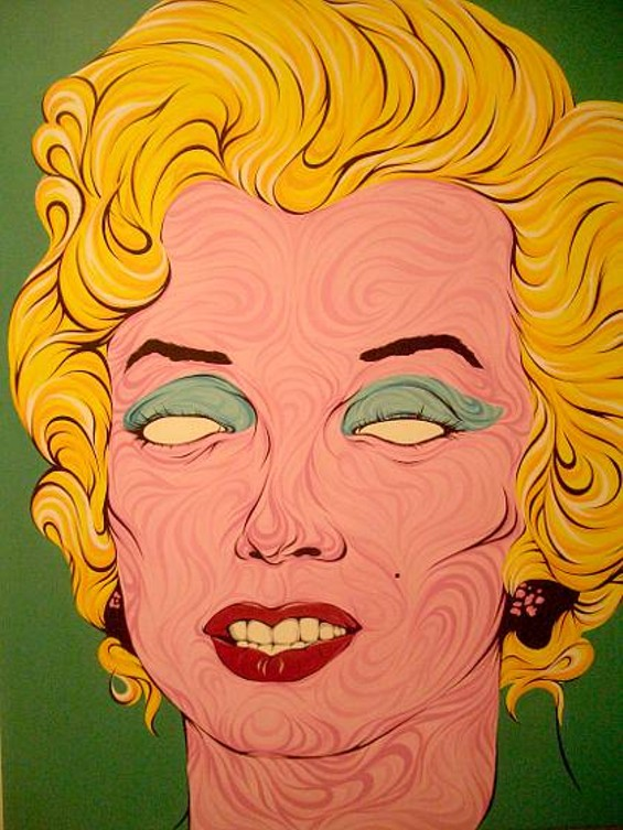 Turquoise Marilyn 2011 by noa-