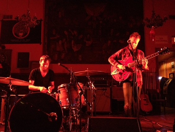 Two Gallants at Edinburgh Castle last night. - ERIN BROWNER