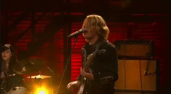 Ty Segall on Conan last night.