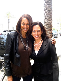 Tyra and Kamala, BFF