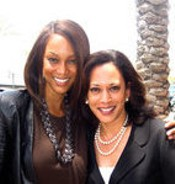Tyra Banks is supporting Kamala Harris. The city's cops are not.