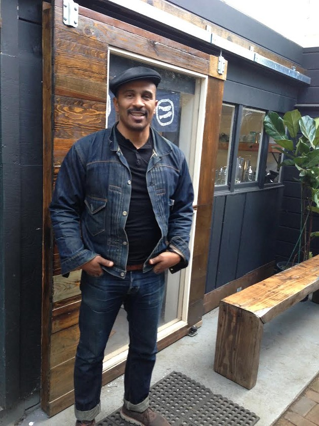 Keba Konte, founder of Red Bay Coffee plans to open a new shipping container coffee bar that would share profits with the workers. - RED BAY COFFEE