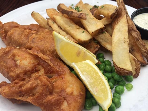 Fish & Chips - ALEXIS KATSILOMETES