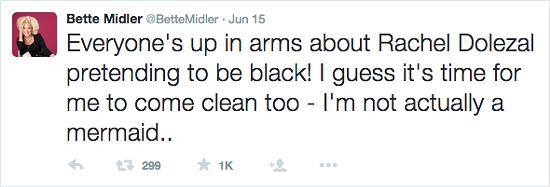 BETTE MIDLER / TWITTER