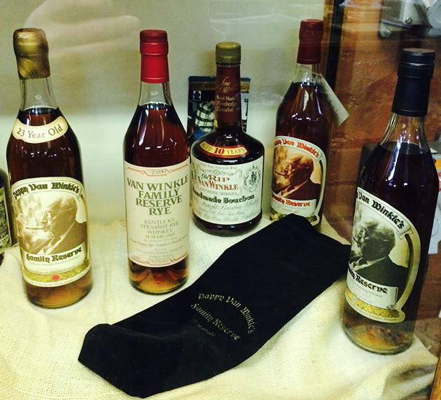 Rip Van Winkle Whiskies at Buffalo Trace Distillery - Frankfort, KY - BRAD JAPHE