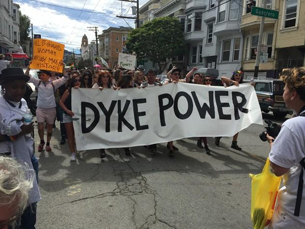 Renegade Dyke March - PETER LAWRENCE KANE