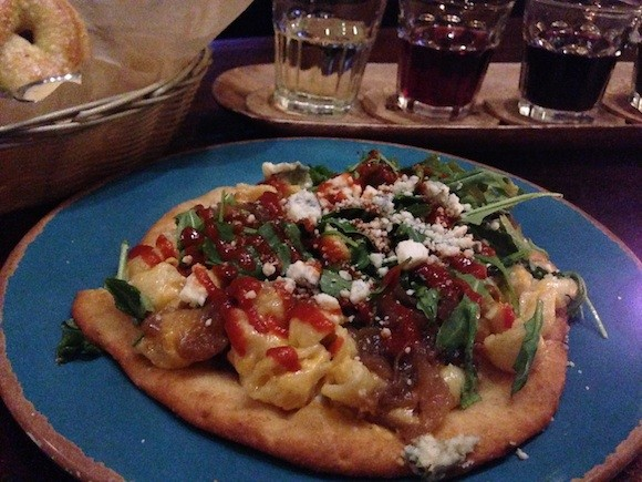 Jamber Wine Pub's Mac n' Cheese Pizza - TREVOR FELCH