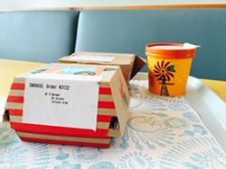 Environmentally-friendly packaging. - ALICE DISHES