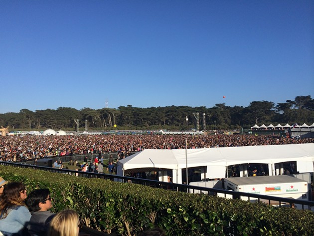 A Fully Packed Polo Field at OSL '14 - KEVIN REID