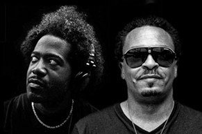 DJ Pierre (left) and Roy Davis Jr. go back-to-back at Mighty on Friday, August 7.