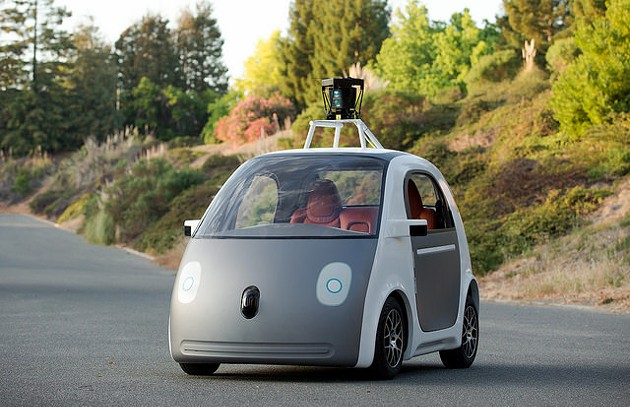 Google's driver-less car - SMOOTHGROOVER22/FLICKR