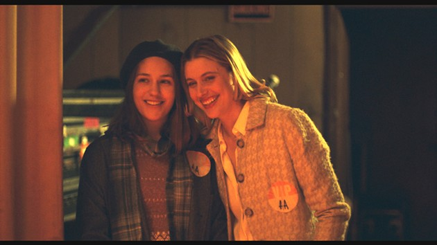 Here they are: Mistress America stars Lola Kirke and Greta Gerwig. - COURTESY OF FOX SEARCHLIGHT