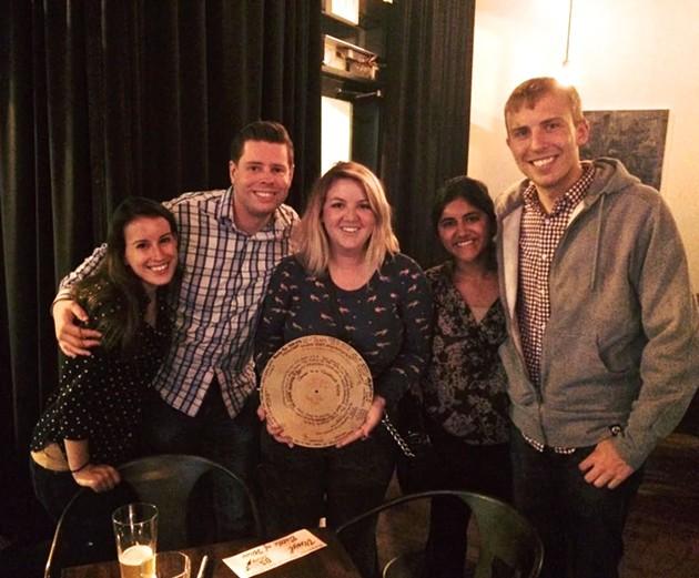 Team Condé Nasty taking home the gold at Vinyl - ALI WUNDERMAN