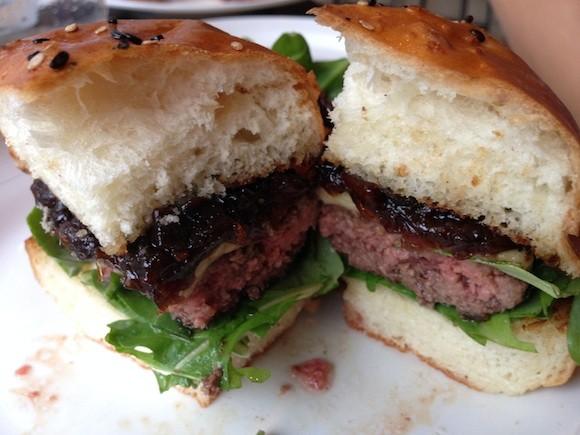 The Rove Burger - TREVOR FELCH