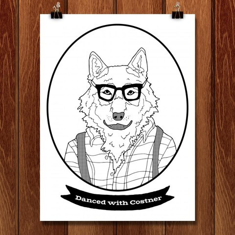 Hipster Wolf - DAISY PATTON